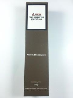 סיגריה אלקטרונית חד פעמית כ 1200 שאיפות Kubi X Disposable 20mg בטעם פטל Blue Razz