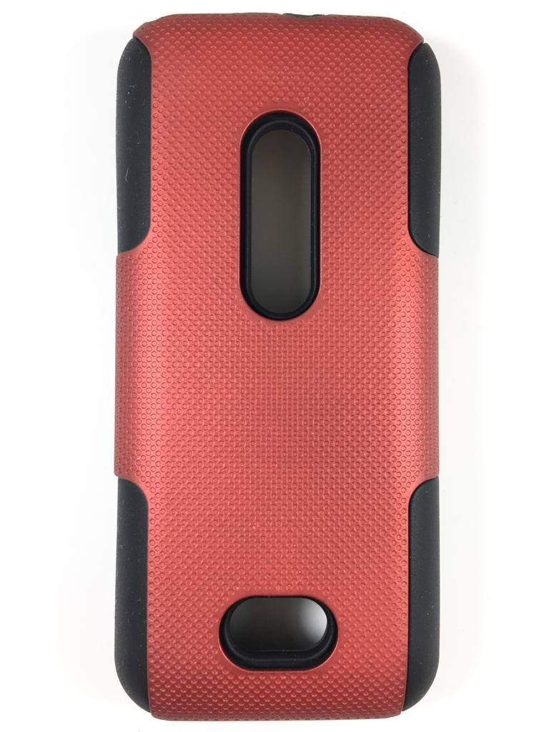 מגן קומבו לנוקיה 208 NOKIA בצבע אדום