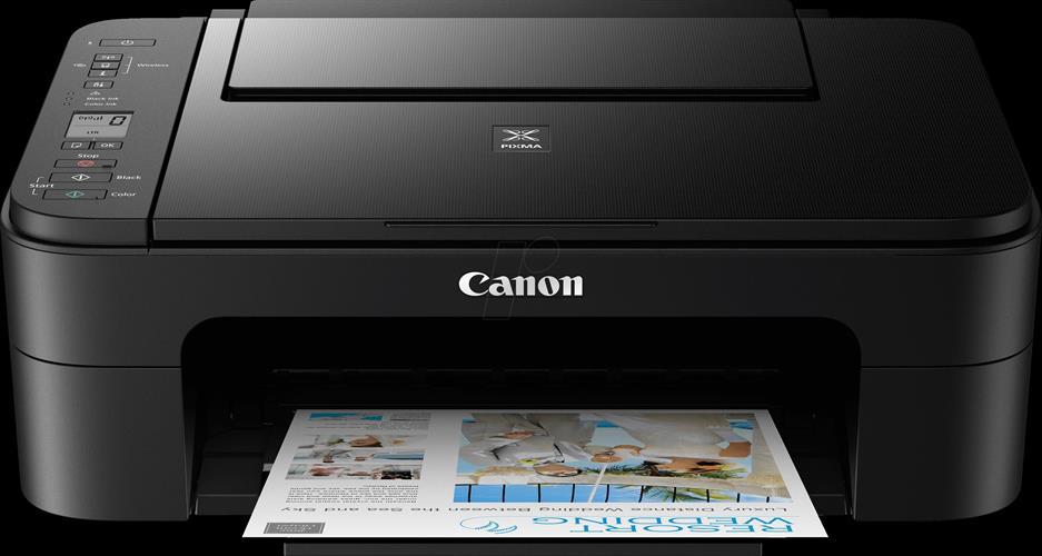 מדפסת הזרקת דיו Canon PIXMA TS3350