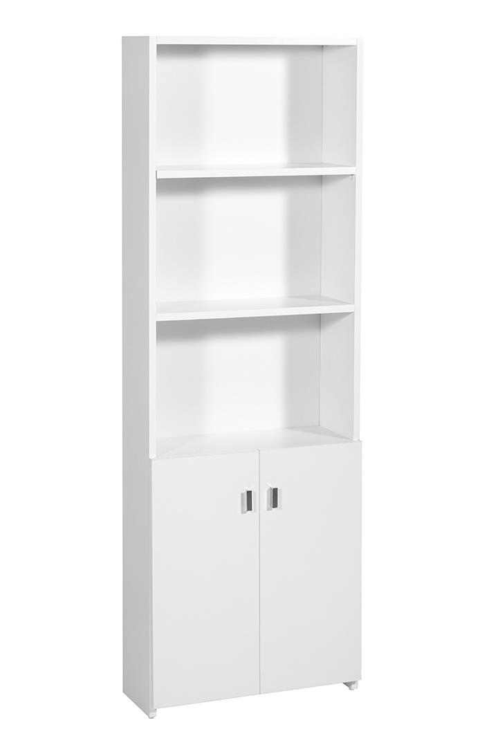 ארון ספריה+2 דלתות דגם K2