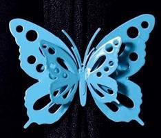 קליפסים לוילון דגם  - פרפרים (מבחר צבעים) זוג באריזה!
