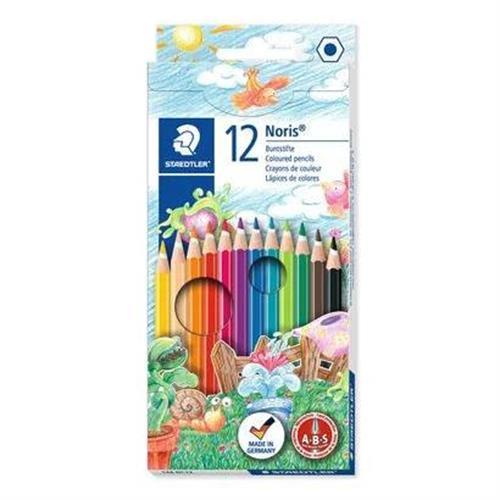 שטדלר-צבעי עפרון במארז של 12