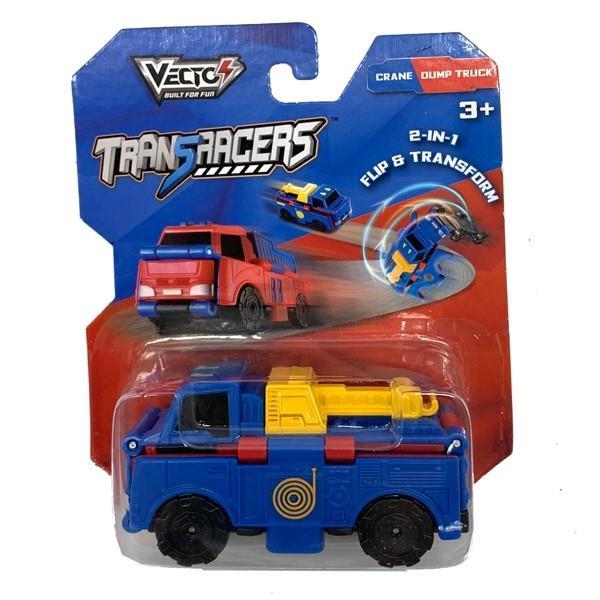 טרנסרייסר-2 ב-1 גרר ומשאית זבל