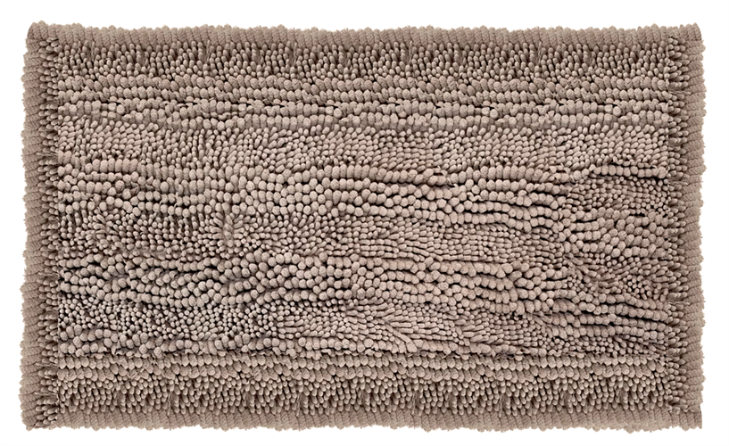 שטיח אמבטיה נצמד איכותי ונעים במיוחד - Beige Shagi