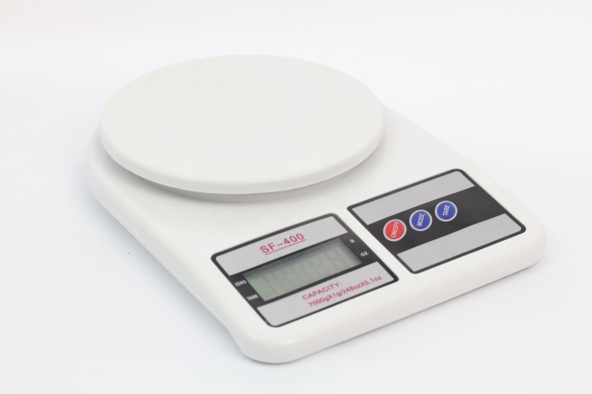 """משקל דיגיטלי למטבח עד 5 ק""""ג - אלקטרו חנן SF-400"""