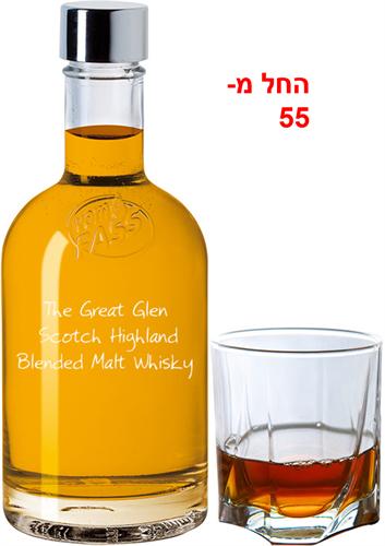 """""""Great Glain""""-   ויסקי סקוטי היילנד בלנדד מאלט - 8 שנים"""