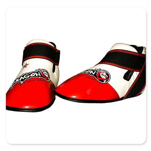 מגן כף רגל DRAGON FOOT PROTECTOR אדום לבן
