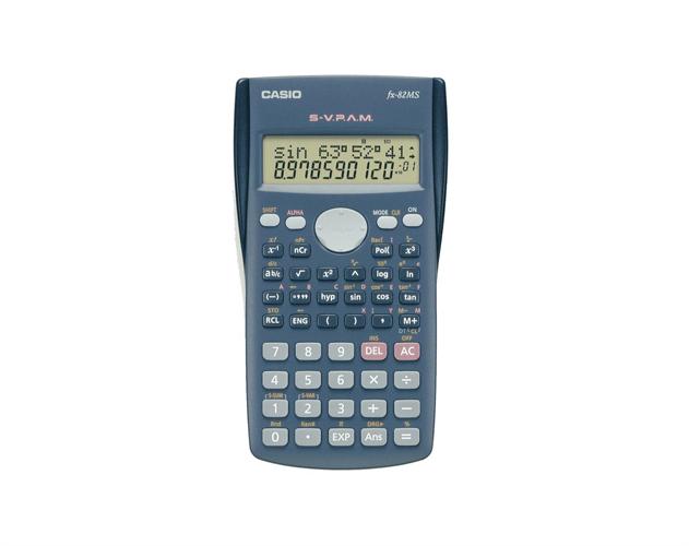 מחשבון MS FX-82 CASIO