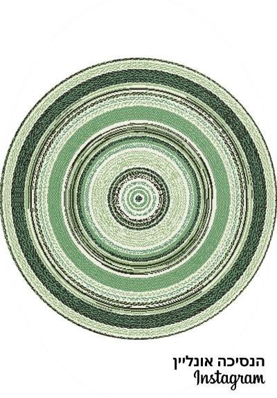 שטיח חבל עגול 08