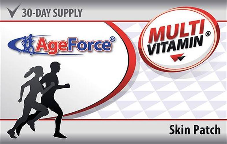 מולטי ויטמין ייחודי בספיגה מושלמת דרך העור