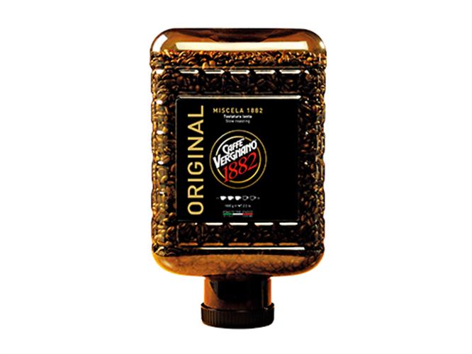 """מיכל פולי קפה 3 ק""""ג 1882 BLEND ORIGINAL"""