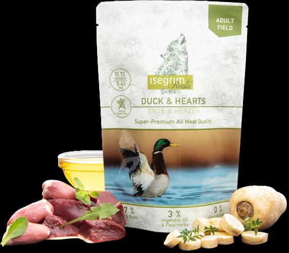 מזון כלבים טבעי  איסגרים רוטס Isegrim Roots