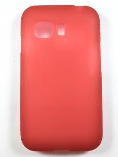 מגן סיליקון לסמסונג יאנג 2 SAMSUNG YOUNG G130 בצבע אדום