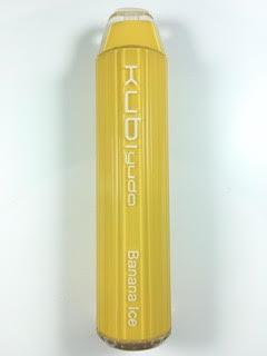 סיגריה אלקטרונית חד פעמית כ 2800 שאיפות Kubi yuda Disposable 20mg בטעם בננה אייס Banana Ice