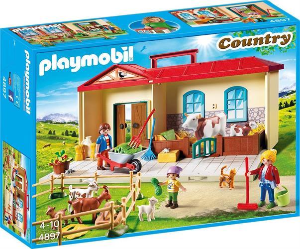 פליימוביל בית בחווה 4897