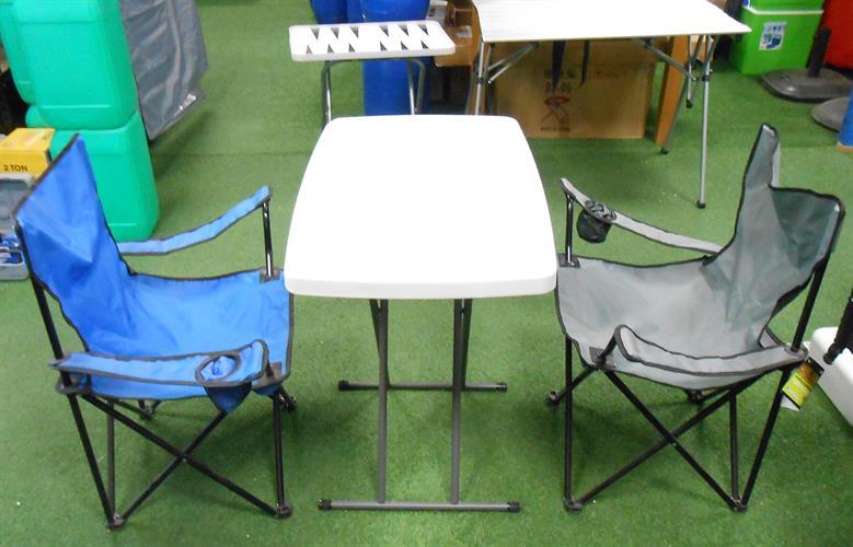שולחן מתקפל  לבית ולשטח  אורך 77 סמ רוחב 50 סמ' גובה 74  סמ  עם אופציה ל 3 מצבי גובה  8234