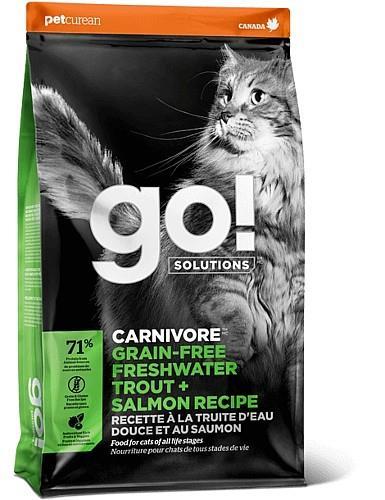 """גו! קרניבור לחתול סלמון ופורל 3.7 ק""""ג"""