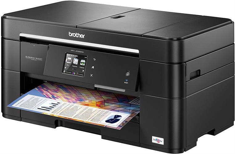 מדפסת משולבת דיו אלחוטית Brother MFC-J5320DW