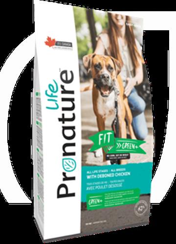 """Pronature פרונייצ'ר 11.3 ק""""ג מזון יבש לכלבים בוגרים בטעם עוף (פיט גרין)"""