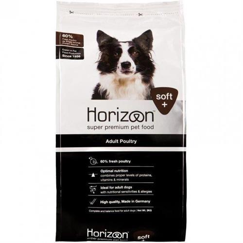 """הוריזון HORIZON מזון לח למחצה לכלב בוגר 12 ק""""ג"""
