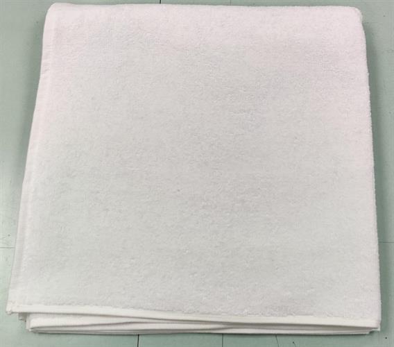מגבת גוף לבן במבצע! כולל רקמה שם