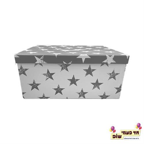 קופסא כוכבים כסף מידה 6
