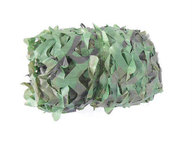 רשת  הסוואה  2  על 5 מטר סיגנון צבאי טקטי צבע ירוק יער