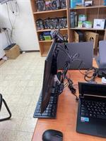 """מחשב מינ פיסי + מסך 24 """" + מצלמת אינטרנט + מקלדת ועכבר אלחוטי"""