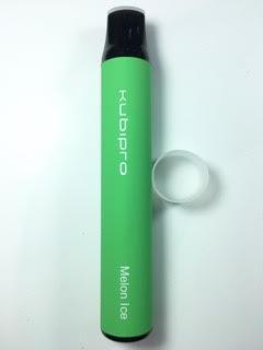סיגריה אלקטרונית חד פעמית כ 2000 שאיפות Kubipro Disposable 20mg בטעם מלון אייס Melon Ice