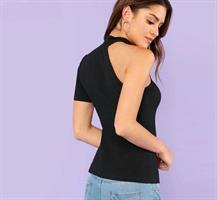 חולצה שחורה- ללא כתף