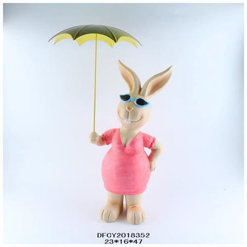 ארנבונית בגשם