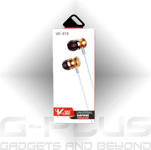 אוזניות V-LIKE 818 זהב