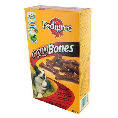 פדיגרי חטיף לכלב - ביסקוויטים בטעמים גרייבי בונס - 400 גרם פדיגרי Pedigree