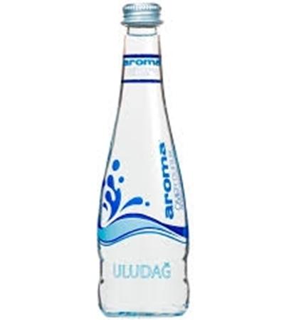 """מים ארומה 330 מ""""ל זכוכית ארגז 20 יח'"""