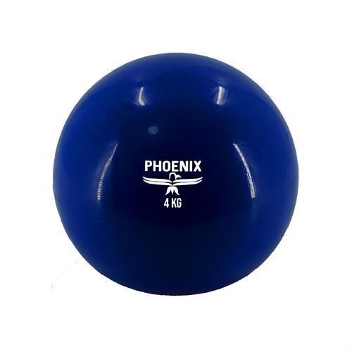 כדור משקל גומי 4 ק''ג PHOENIX