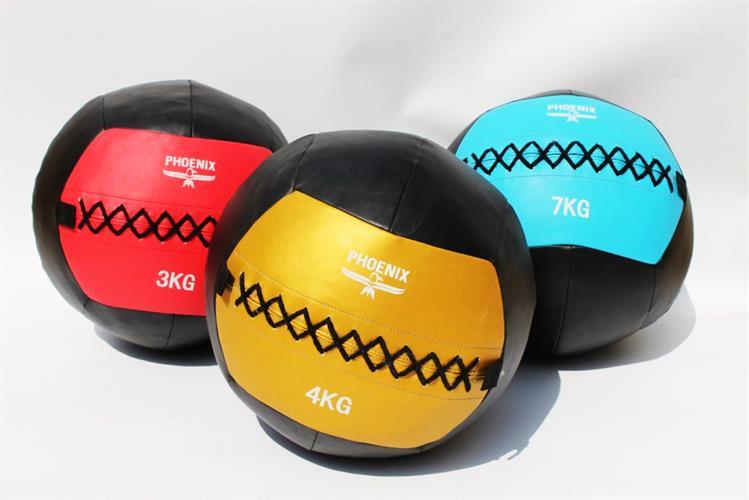 "כדור כוח 3 ק""ג PHOENIX WALL BALL"