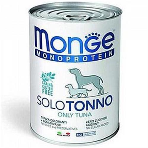 MONGE- מונו פרוטאין שימור 400 גר טונה לכלב