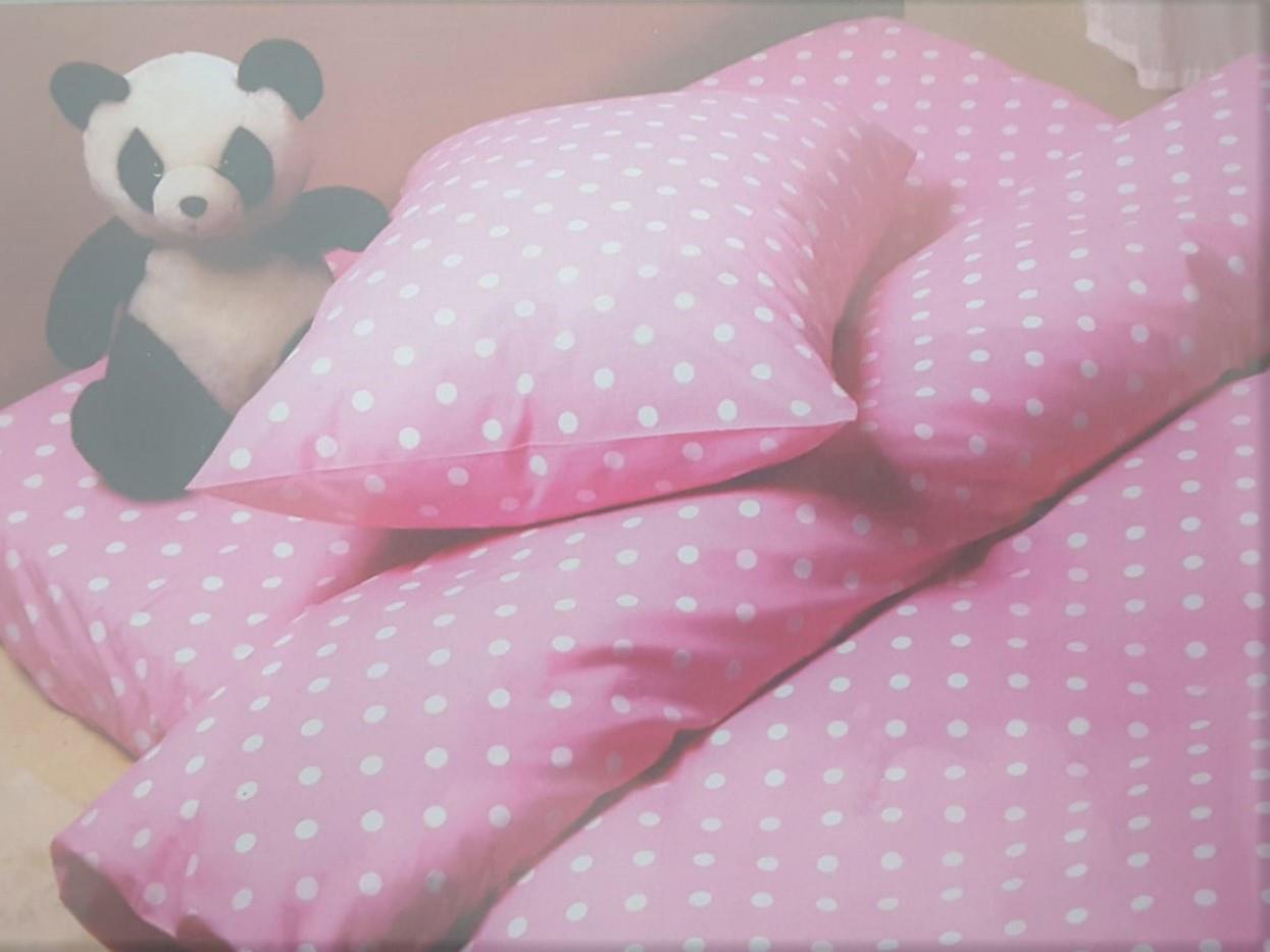 מצעים למיטת יחיד 100% כותנה - פריד דגם דוטי