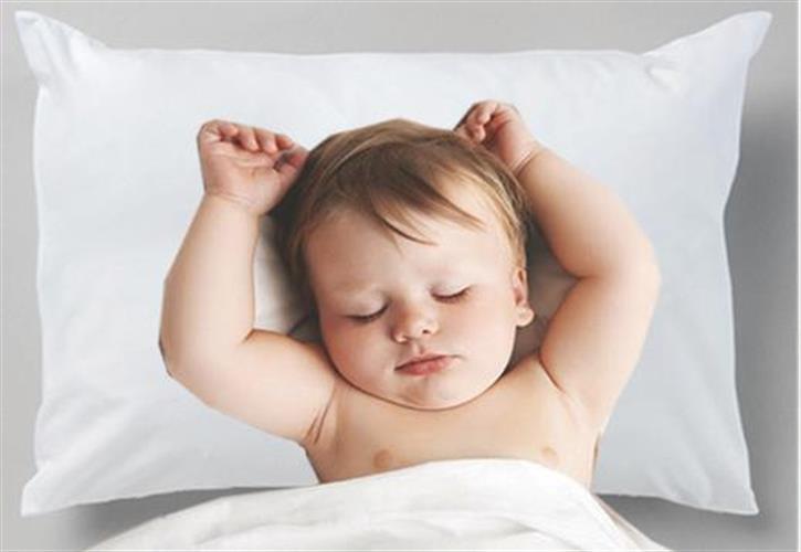 כרית לתינוק במרקם עדין במיוחד
