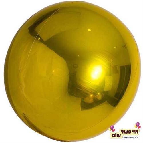 בלון עגול 24 אינץ' זהב (ללא הליום)