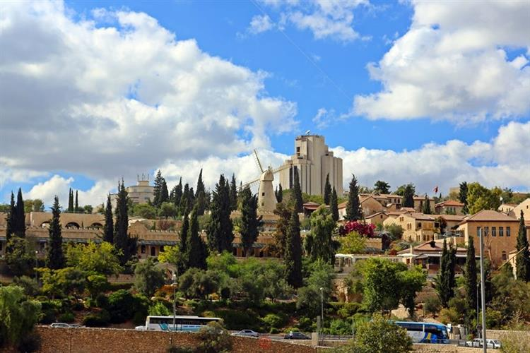 Support Israel and get this picture: Yemin Moshe, Jerusalem