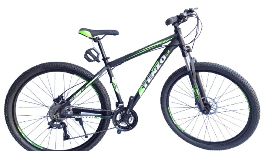 TENZO אופני הרים 29 אינץ' הידראולי דגם ירוק