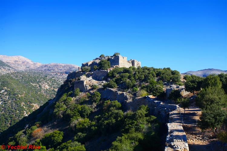 Support Israel and get this picture: Nimrod Fortress