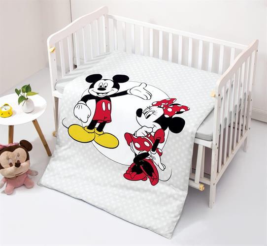 מצעים לתינוק: מיקי & מיני דגם 3 100% אל קמט בצפיפות גבוהה!