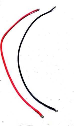 כבלים מהבקר למצברים לבקר 10 אמפר