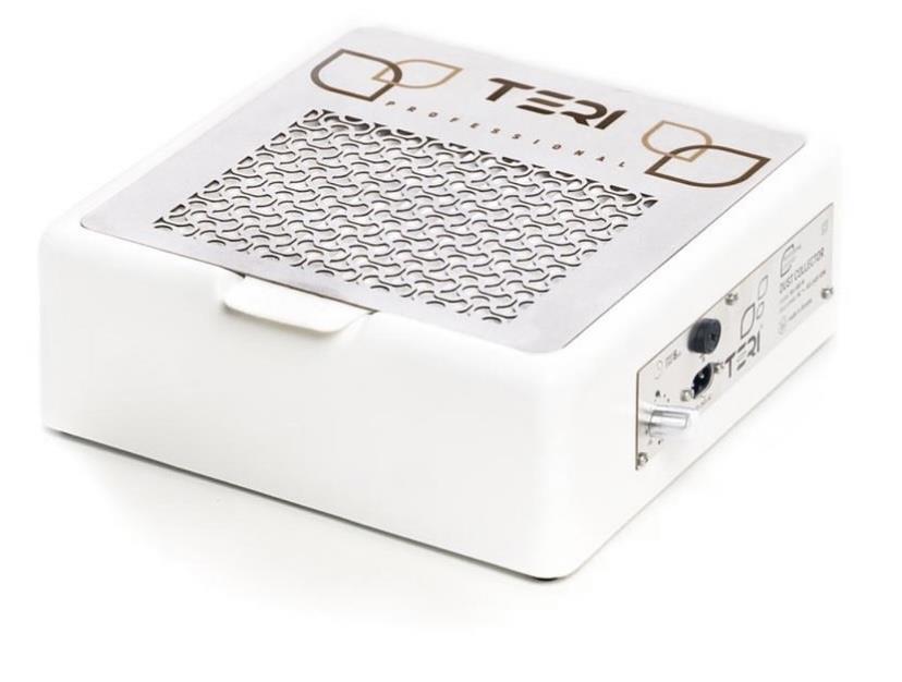 שואב אבק שולחני לבן עם פילטר TERI 800 M