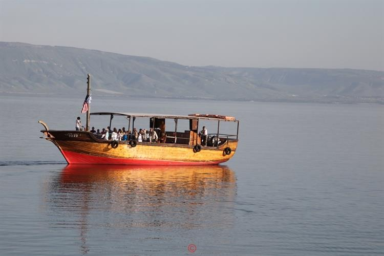Support Israel and get this picture: Sea of Galilee