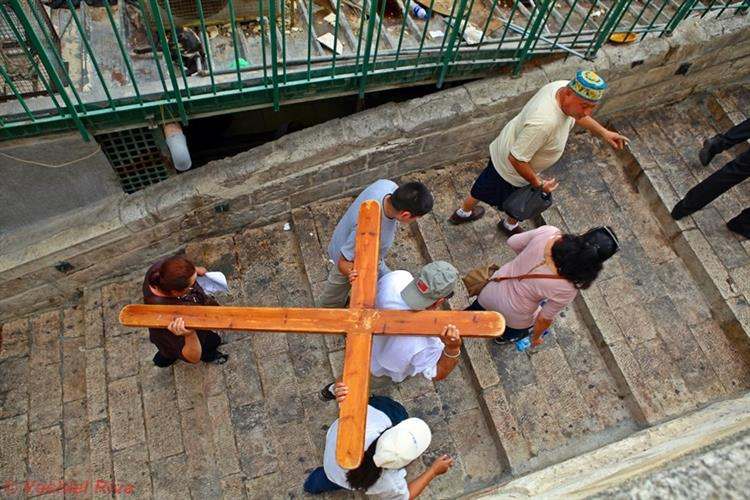Support Israel and get this picture: Via Dolorosa, Jerusalem