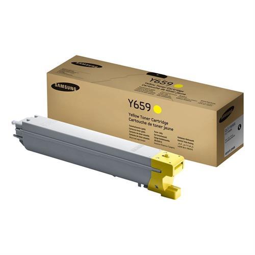 טונר מקורי צהוב CLT-Y659S למדפסת סמסונג SLX-8640,8650