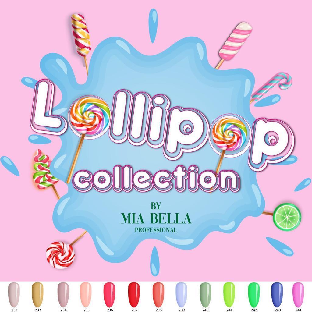 LOLIPOP Collection  -קולקציה שלמה 13 צבעים במחיר מוזל
